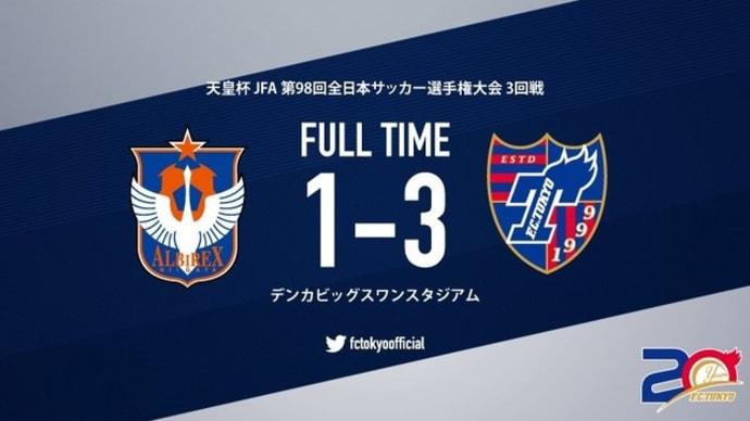 新潟×FC東京【天皇杯】