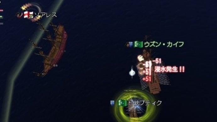 航海日誌☆2人で砲術上げ上げ~行ってきました☆(≧∀≦*)ノ