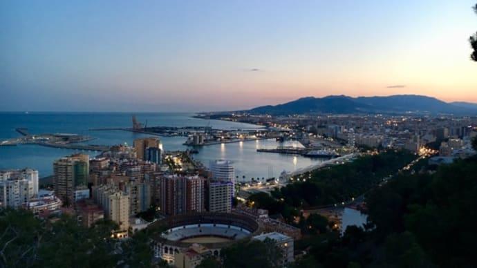 地中海に昇る太陽@コスタ・デル・ソル