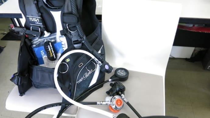 NDSポレスター2レギュレータにTUSAティナBCジャケットをセット