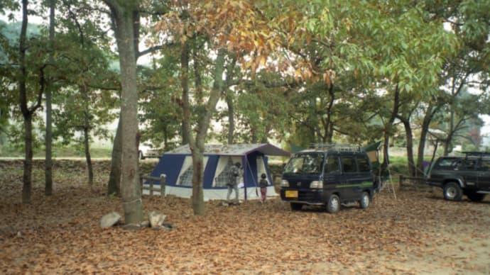 カルディアキャンプ場①📷マルシャルのテントで注目されるーぶらり旅12