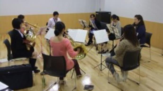 披露宴演奏練習写真 【にぎわい交流館】