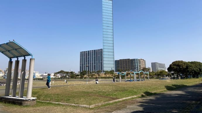 千葉ポートパークで地域美化活動 2021/3/26