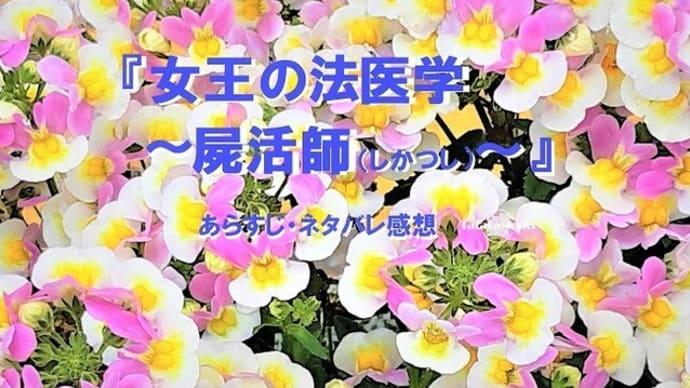 ドラマ『女王の法医学~屍活師~』感想。仲間由紀恵と松村北斗の法医学サスペンス5/31放送