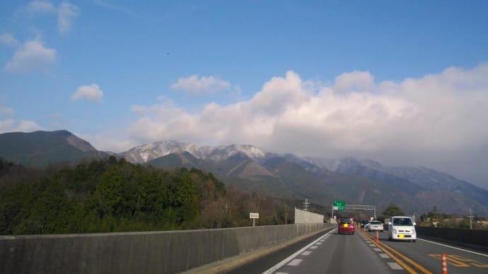 琵琶湖大橋の西岸を北へ