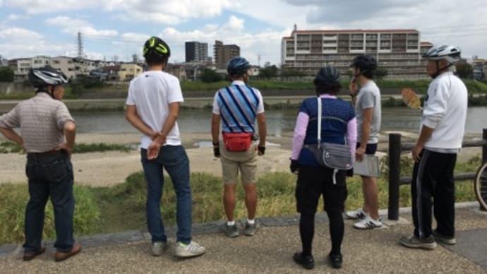 大和川水辺ぐる輪散走  の試走