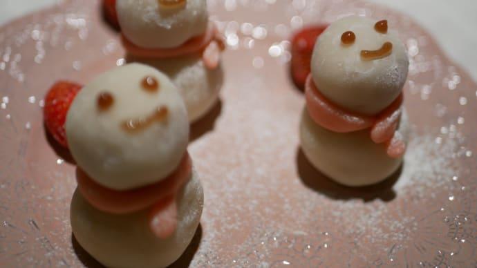 季節外れ・雪だるま苺🍓