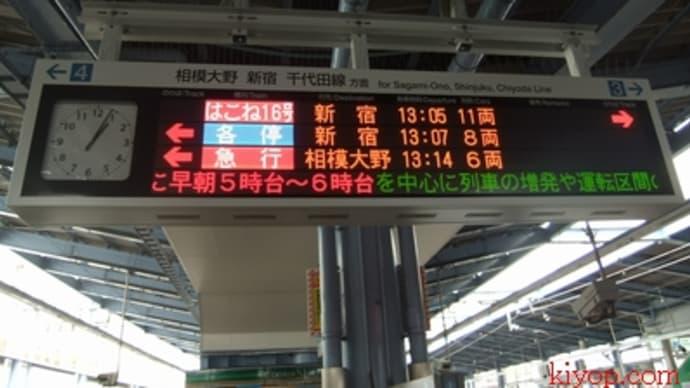 小田急-HiSE(10000形)に乗ったよ