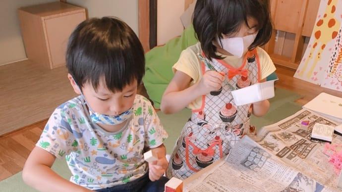 桐生教室 幼稚園さん★