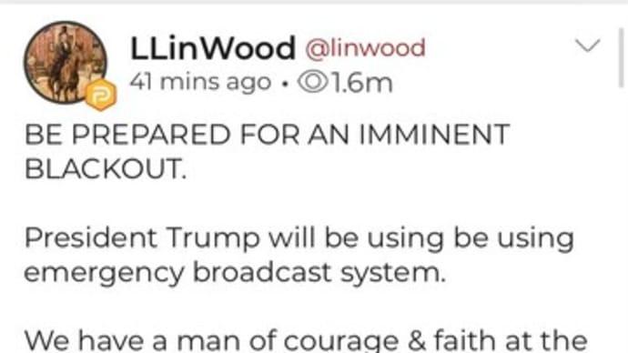 ペロシ逮捕?停電・緊急放送・大量逮捕か?バチカンその他の地域で停電。リンウッド弁護士「差し迫る停電に準備してください。トランプ大統領はその場合、緊急放送システムを使います」
