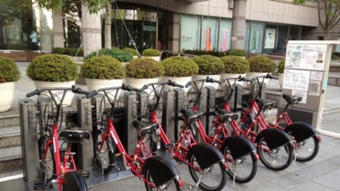 横浜中心部・baybikeシステムを使ってみたよ