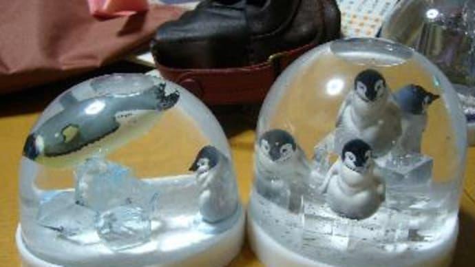ペンギンのスノードーム