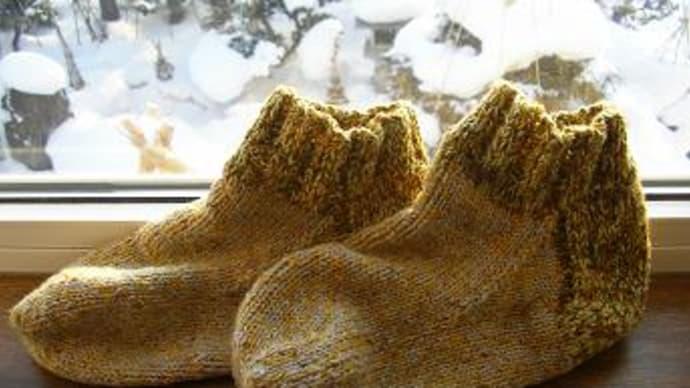 おばあちゃんの靴下