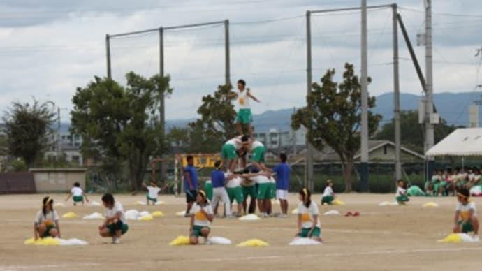 体育大会2011 in 田辺中 培良中