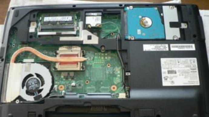 AH53/S 起動に10分かかる? HDD→SSDへ換装しました