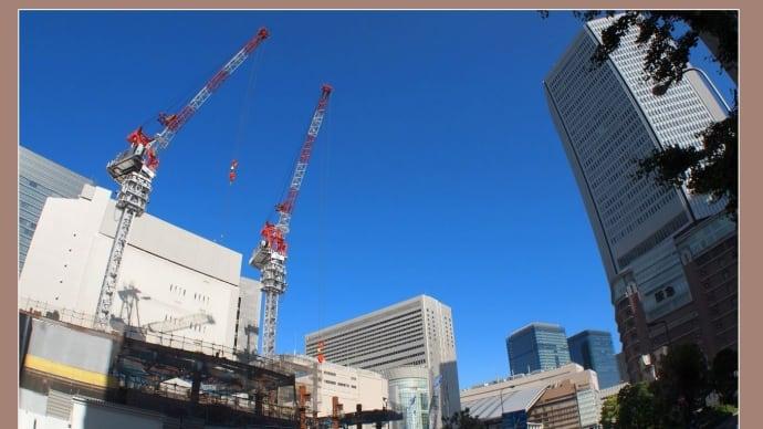 阪神百貨店の建築工事  2016.6.3
