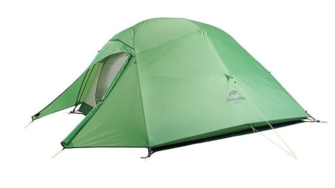 新しいテントを購入しました