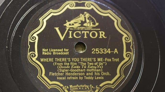 Victor 25334 FLETCHER HENDERSON & HIS ORCH
