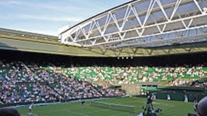 ウィンブルドンでテニス観戦の旅。