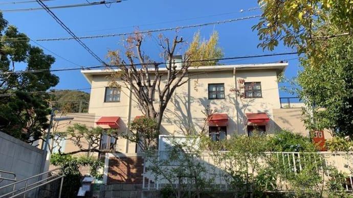 神戸「花の館 パラディ北野」にてランチ