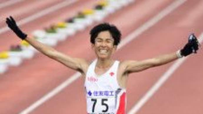 鈴木健吾が日本新記録で優勝初の2時間4分台びわ湖毎日マラソン