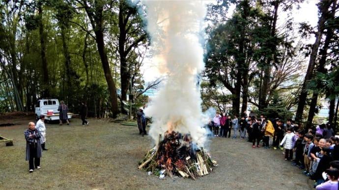 2020・1・14 今日は西八朔・杉山神社のどんど焼き。武蔵国六之宮杉山神社の謎。。