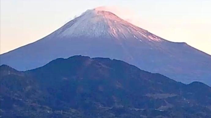 2021年 元旦の富士山