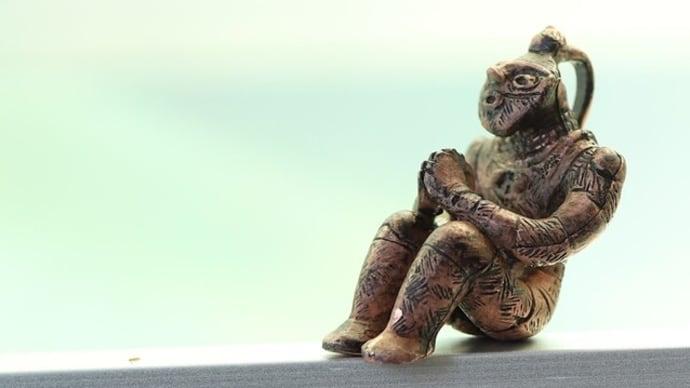 国宝 「合掌土偶」ペンダントミニオブジェ (659-337)