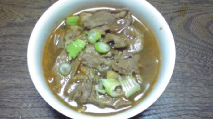 ☆台湾風牛肉麺?
