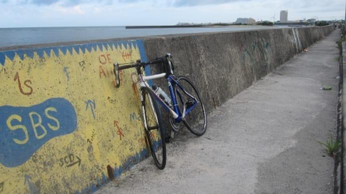 今日は、北谷&嘉手納コースのサイクリング。