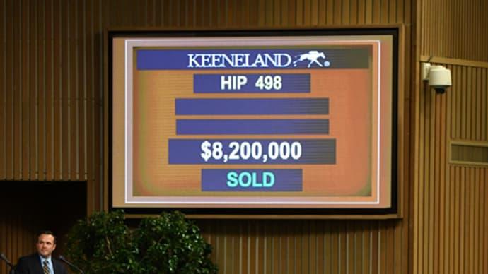 【キーンランド・セプテンバーセール2019(Keeneland September Sale)-Book1】の結果概要