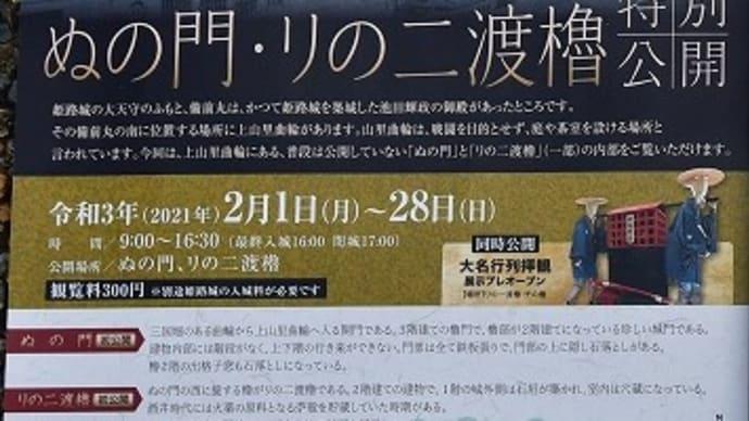 姫路城 冬の特別公開