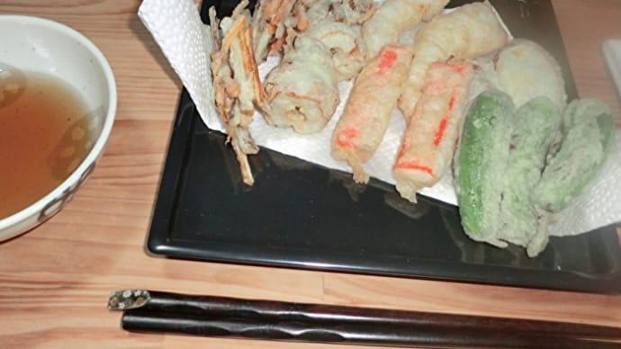 揚げたての天ぷらで一杯!📷ぶらり旅【おうち居酒屋】10-01