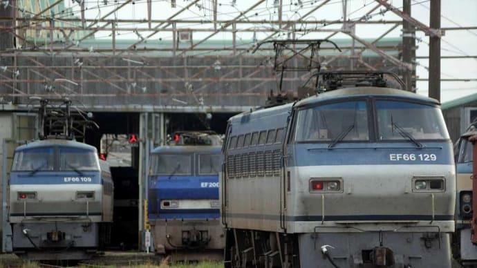 EF66-129ご帰還