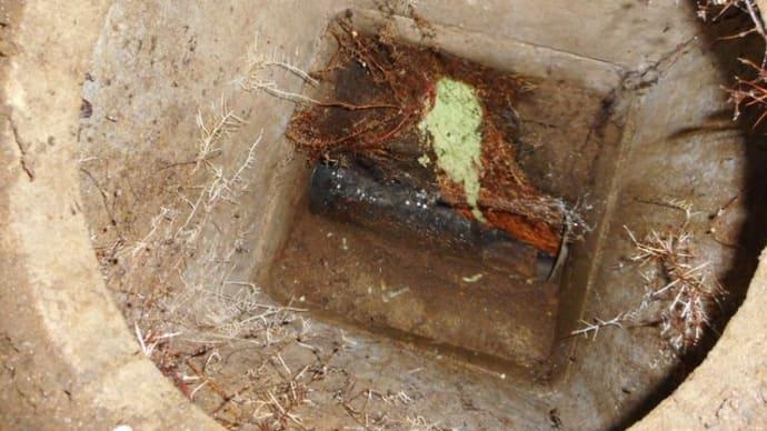 汚水桝の詰まり修理・・・千葉市