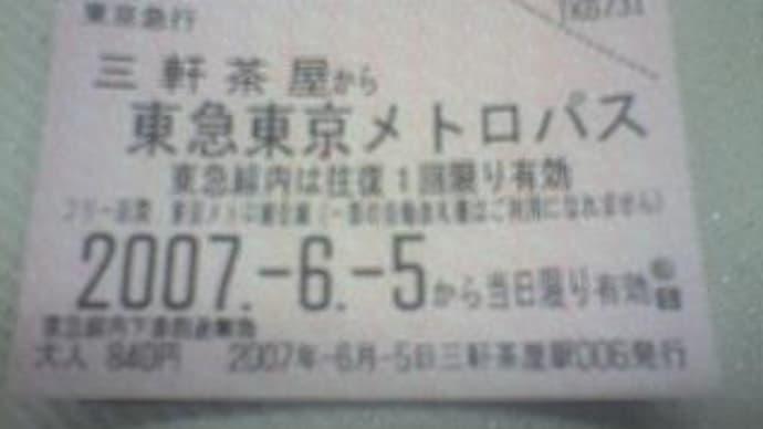 ☆東急東京メトロパス