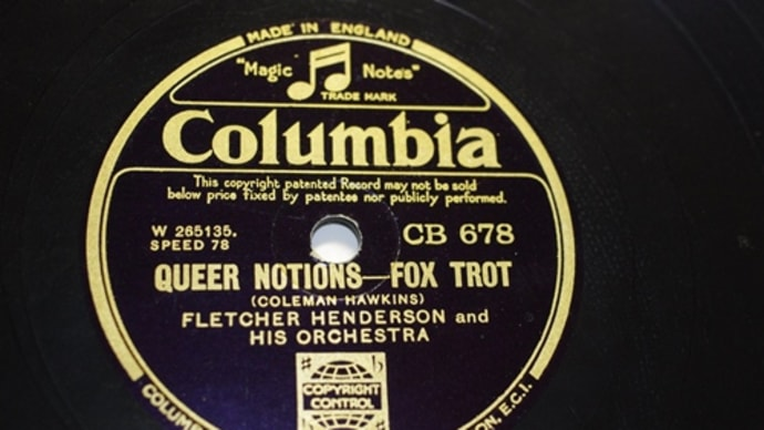 Columbia(UK) CB 678   Fletcher Henderson And His Orchestra