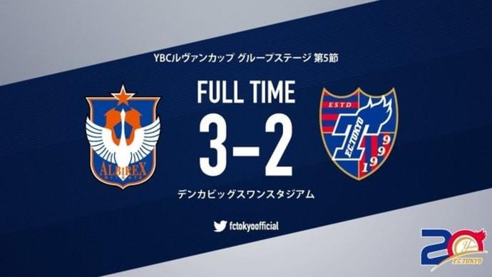 新潟×FC東京【ルヴァンカップ】