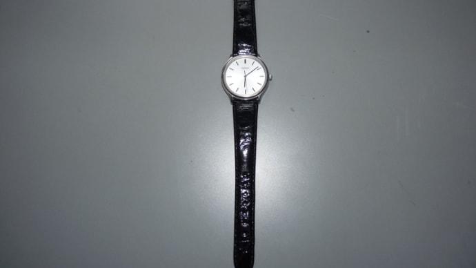 腕時計のバンドを替えた。