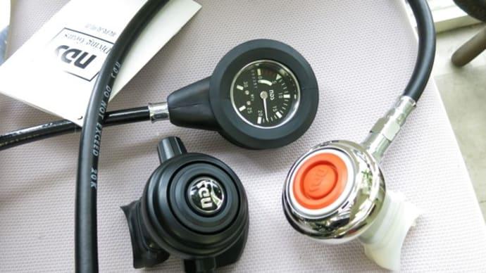 ポレスター2レギュレータ、オクトパス80、シングル残圧計&TUSAソブリンBC