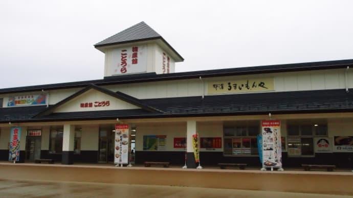 一日中雨の国道9号線を走って道の駅「農匠の郷やくの」に(2015/6/5)