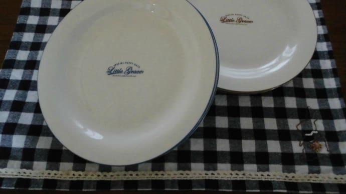 お皿やわさびチロルなどダイソーで買ったもの。
