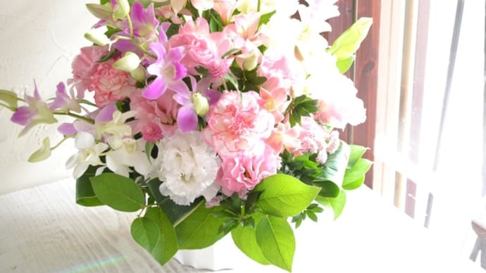 お彼岸のお花