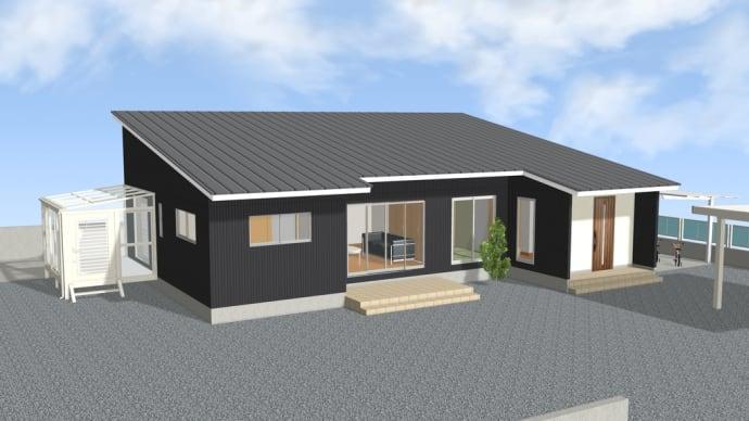 広い敷地に想いのつまった平屋建て住宅 完成見学会
