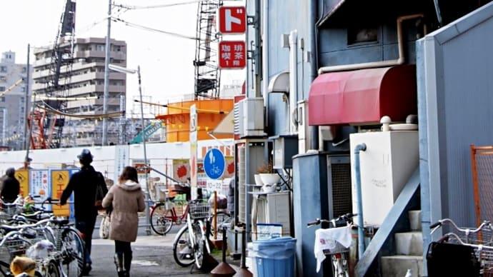 阪急・淡路駅前