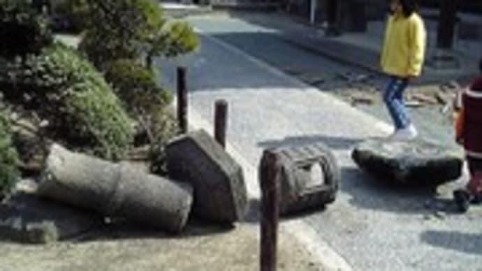 明日は震災記念日