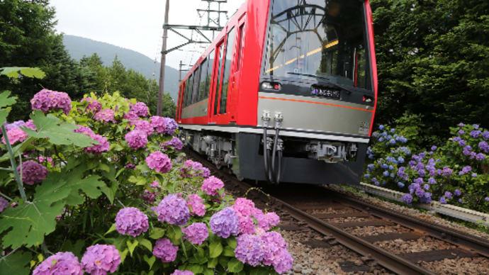 箱根登山鉄道が台風被害で運休から7月23日再開沿線の人々から喜びの声