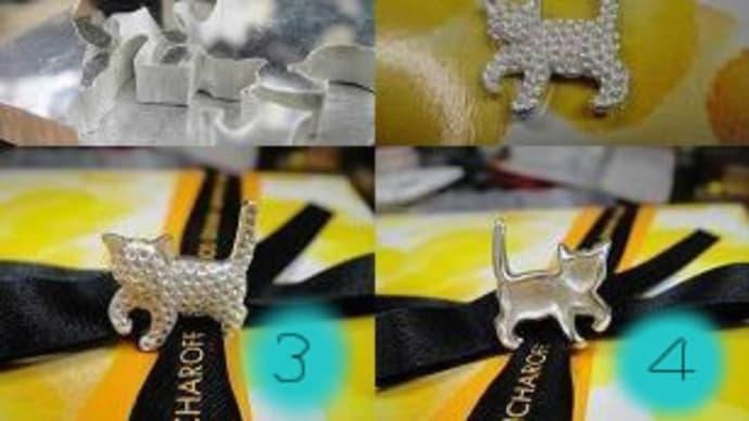 猫パヴェブローチ&ペンダントトップ(製作過程①ダイヤモンド)