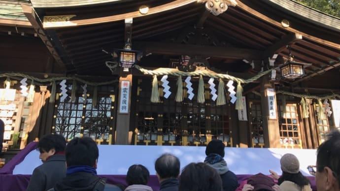 検見川神社に初詣