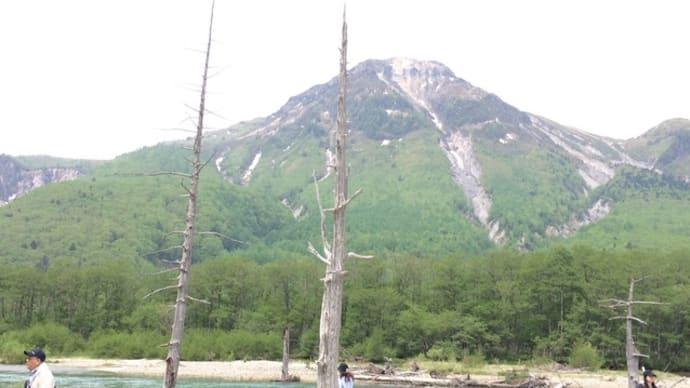 上高地大正池・焼岳